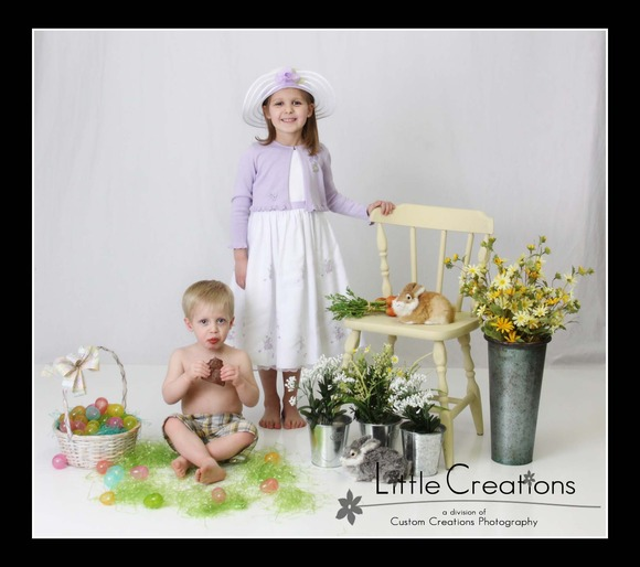 Bunnies & Peeps | Shakopee Easter Photos